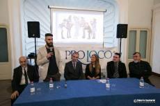 """Il curatore della mostra """"Montevarchi va Alla Fronte"""", DOtt. Vito Monterosso, inaugura il convegno dedicato alla Prima Guerra Mondiale"""