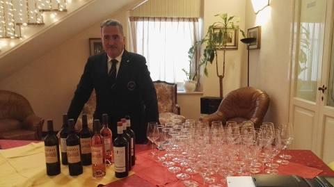 Degustazione di vini moldavi che ha impreziosito l'evento