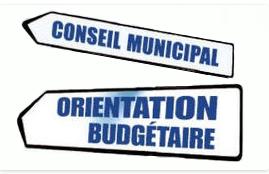 Débat d'orientations budgétaires au conseil municipal