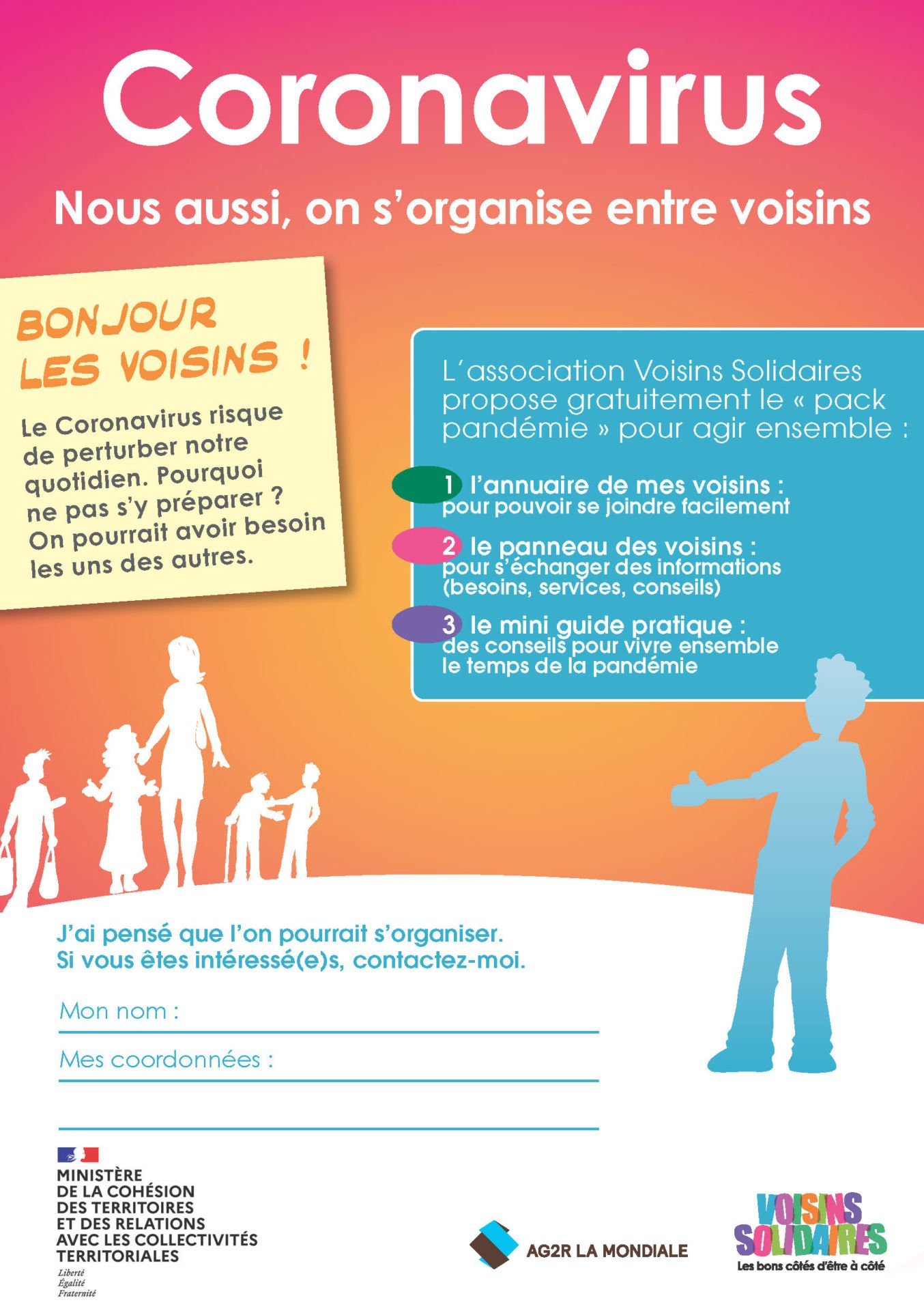 Tract A5 Coronavirus Voisins Solidaires