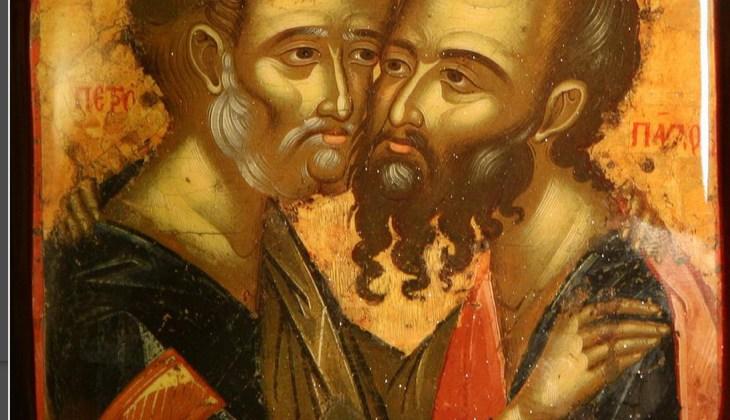 Праздничное Богослужение в честь первоверховных апостолов Петра и Павла