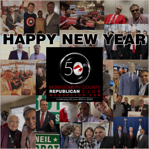 A look Back at 2020 Happy New Year from the Montgomery County Republican Club
