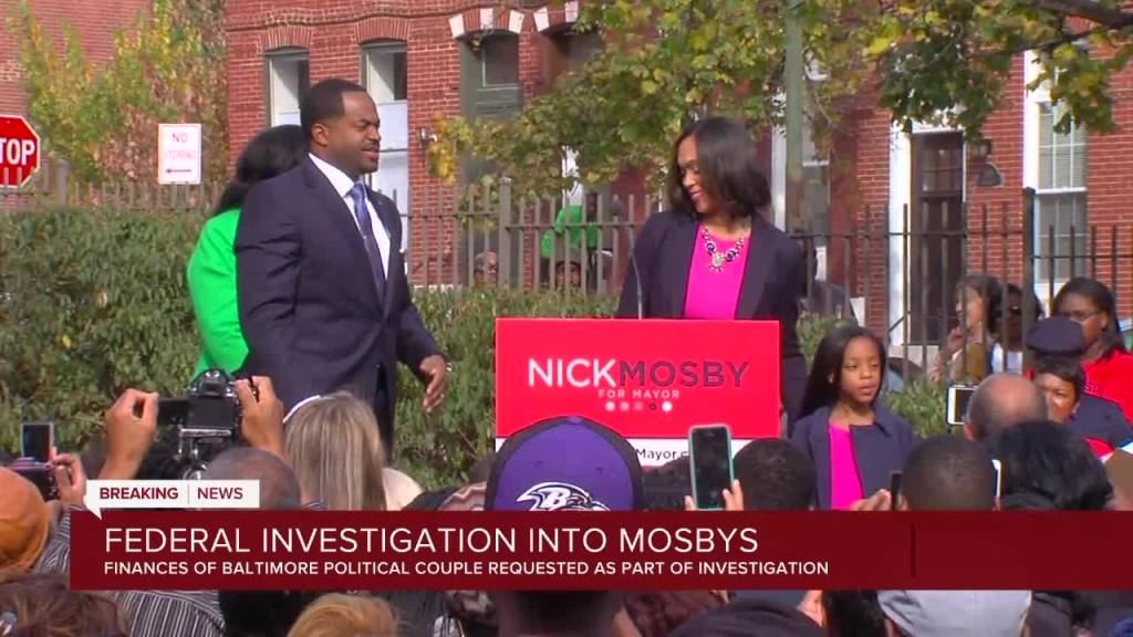 Baltimore's Mosbys campaigning