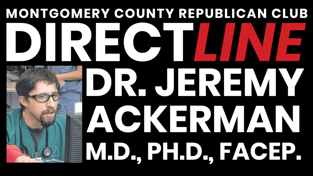 a photo Direct Line w/Dr. Jeremy Ackerman, M.D., Ph. D., FACEEP
