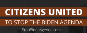 Stop the Biden Agenda logo