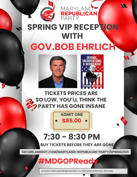 VIP Reception with Governor Ehrlich