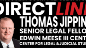 Thomas Jipping Senior Legal Fellow, Edwin Meese III Center for Legal and Judicial Studies