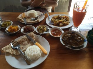 Nepalese lunch