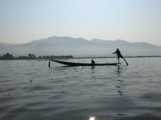 Inle one-legged fisherman