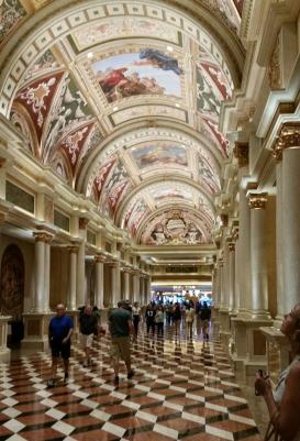 Beautiful Vegas interior at Vision Expo