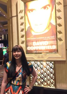 Bei David Copperfield im MGM Grand in Las Vegas.