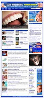 Teeth Whitening Niche Website