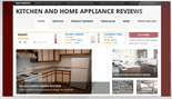 Kitchen & Home Appliance Review Website