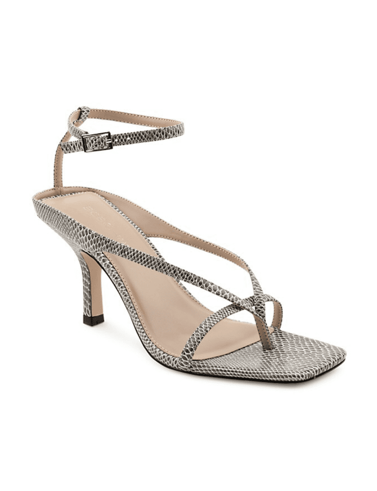 BCBGeneration<br><small>Midony Faux Leather Ankle-Strap Sandals</small>