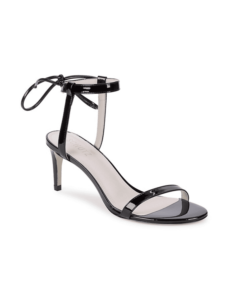 Schutz<br /><small>Leandra Patent Leather Heeled Sandals</small>