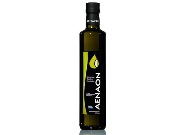 Greek extra virgin olive oil Aenaon