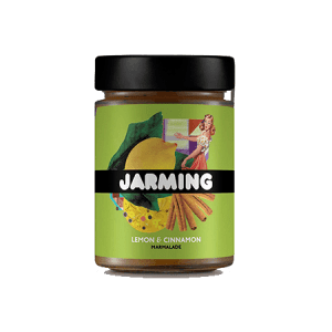 Lemon and Cinnamon Marmelade from Jarming