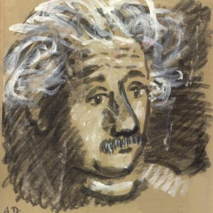chalk-drawing-of-albert-einstein