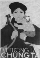 Vietnamese Vietnam War Poster. Artist Unknown.