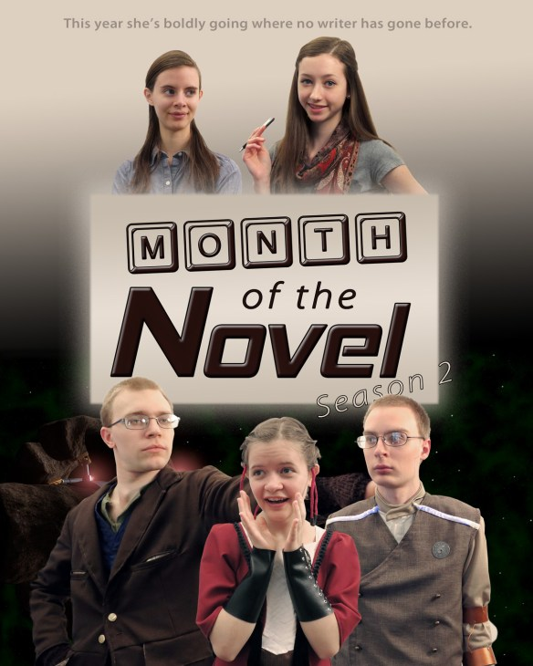 Month of the Novel Season 2 Poster