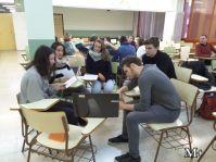 montilivi plus institut girona alumnes 3r preparen classe per alumnes intercanvi3