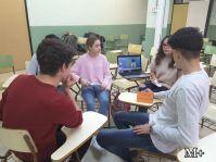 montilivi plus institut girona alumnes 3r preparen classe per alumnes intercanvi6