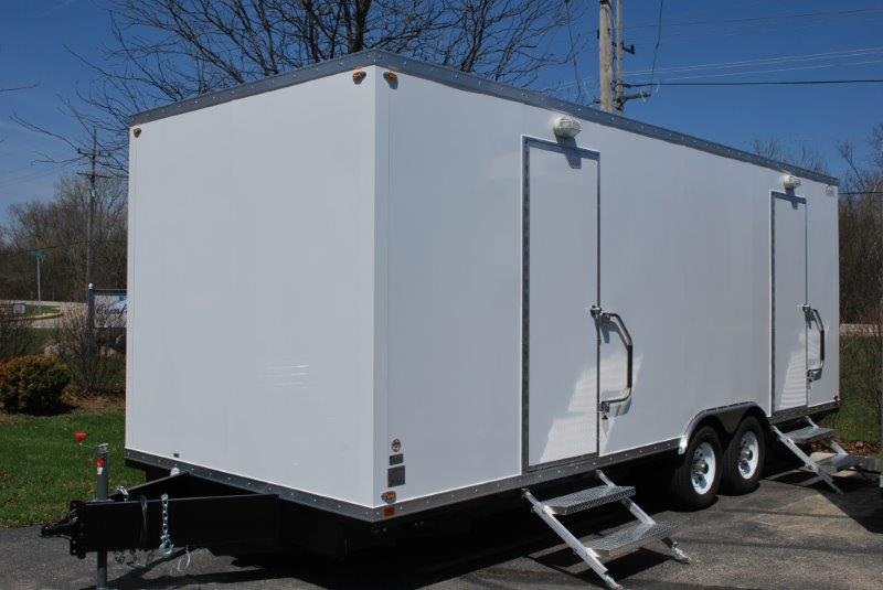 Save Big When You Buy Used Restroom Trailers!