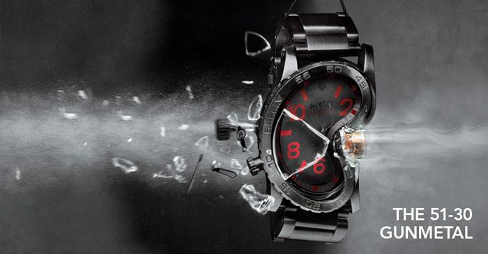 Nixon The 51-30 Gunmetal watch