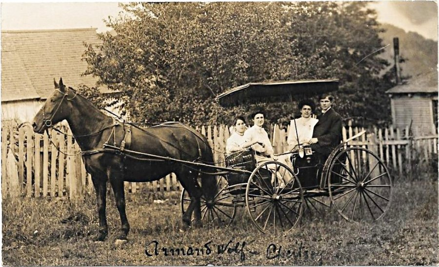 Chertsey, famille Wolf
