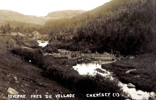 Moulin sur la rivière Burton
