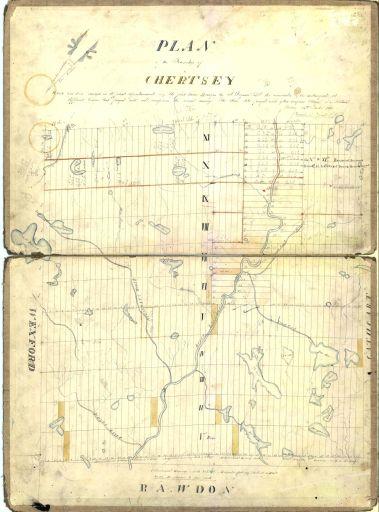 1852 - Lotissement des rangs 10 et 11