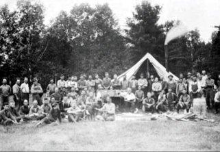 Rivière Ouareau 1930