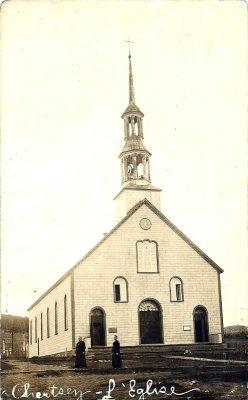 1912 église de Chertsey