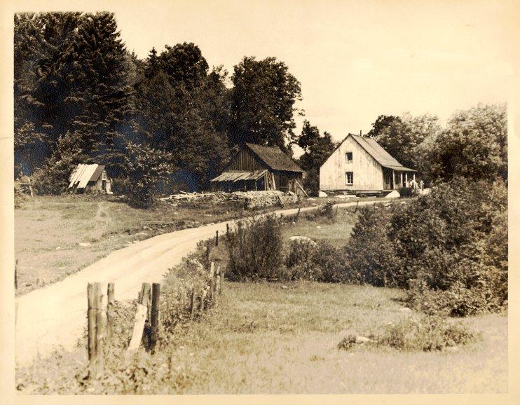 Lot 14 rang 6 au lac Michel, maison de Ulric Bourgeois