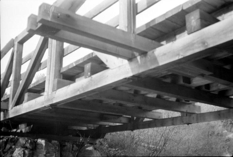 Le pont Grégoire, structure