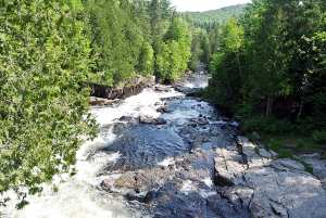 La Chute à Morinn sur la rivière Jean-Venne