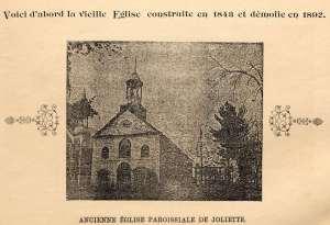 La première église de Joliette