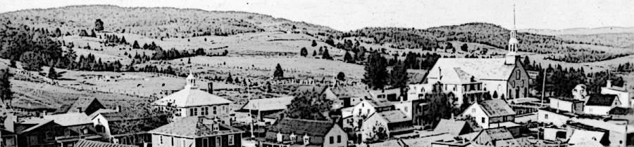 Le village de Chertsey