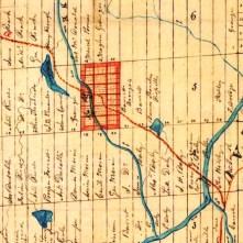 Cadastre Chertsey 1860