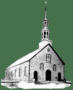 Église Saint-Théodore de Chertsey 1899