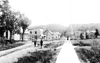 Rue de l'Église, Chertsey 1915