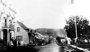 Rue de l'Église, Chertsey 1910