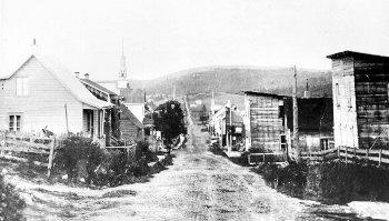 Rue de l'Église Chertsey 1903