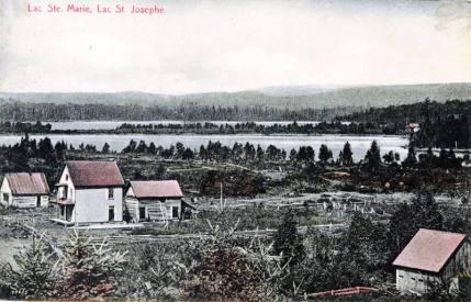 Nominingue: Lac Sainte-Marie et lac Saint-Joseph