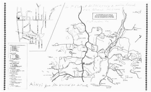 Carte de Gérard Miron