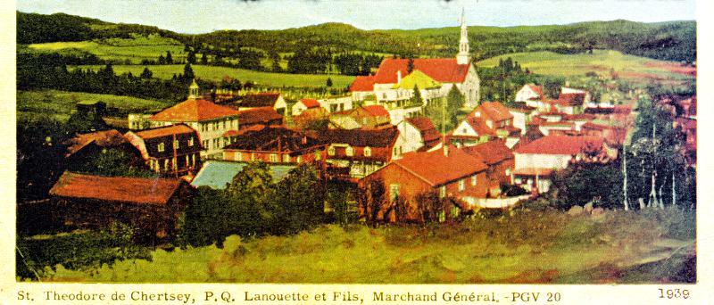 Chertsey à l'époque de l'agriculture