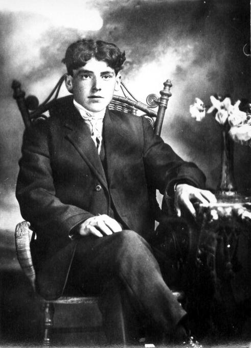 Alphonse Poudrier fils de Edmond et Rose de Lima Lapierre