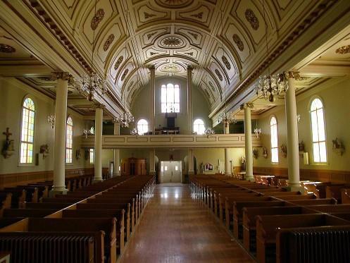 Église de Chertsey - Intérieur