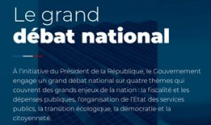 France; débat national