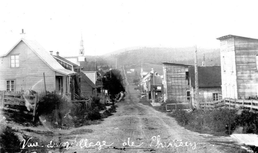 Rue de l'Église - 1903